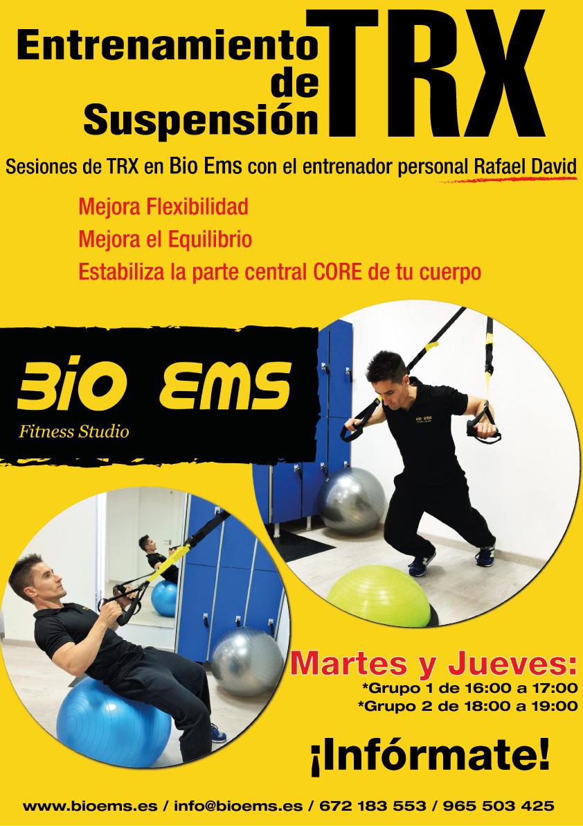 Cartel-entrenamiento-Rafa_Bio Ems Electroestimulación Alicante