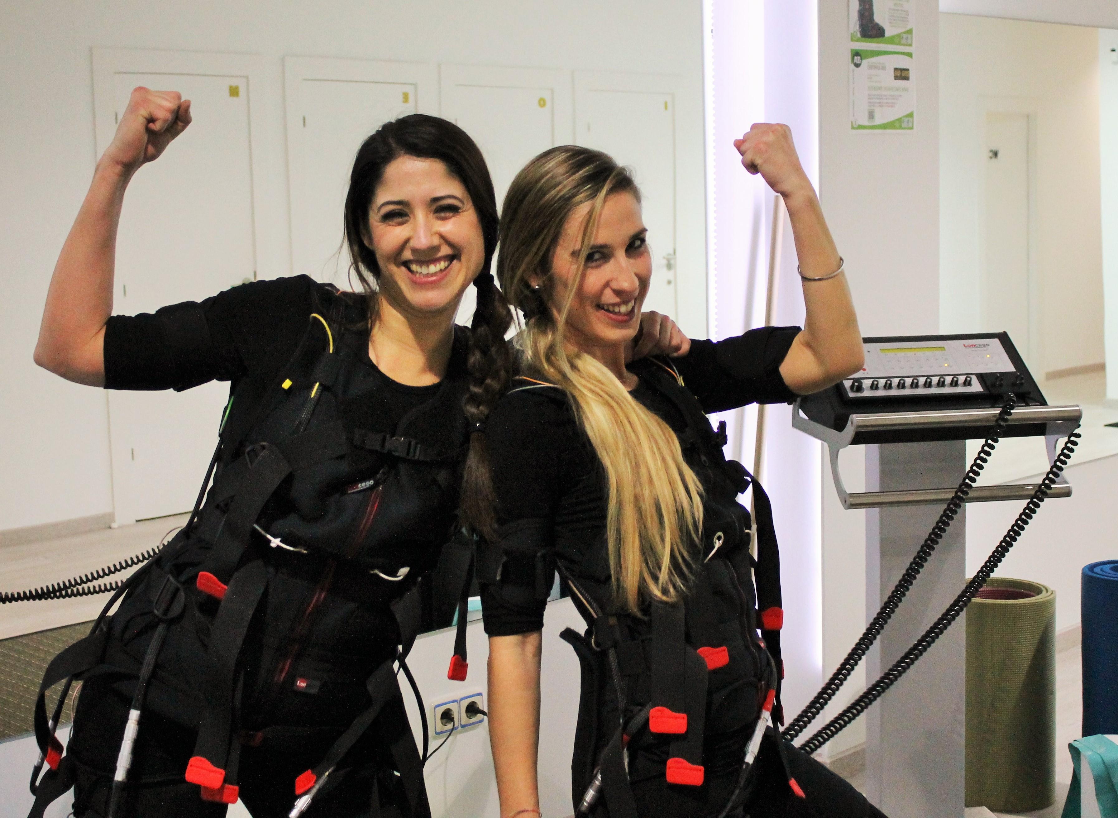 Entrenamiento con electroestimulación muscular en Bio Ems Alicante