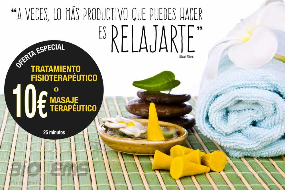 Oferta Fisioterapia Alicante