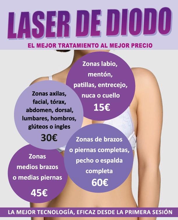 2.LASER DE DIODO TARIFAS