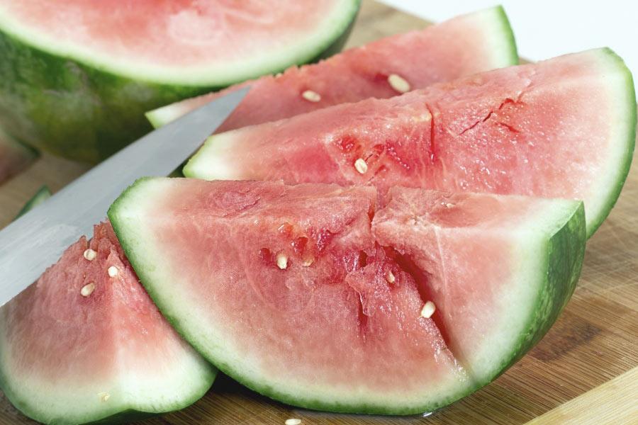 sandia para la dieta de verano